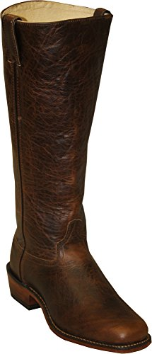 Abilene Men's Cowhide Shooter Boot Square Toe Brown 11 EE