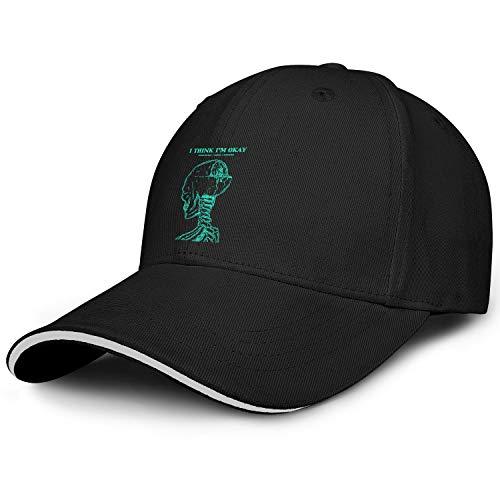 - Ina Fers. Machine-Gun-Kelly-Hotel-Diablo- Unisex Fashion Hats Baseball Caps
