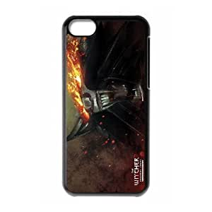 iPhone 5C Phone Case Black The Witcher V8968083