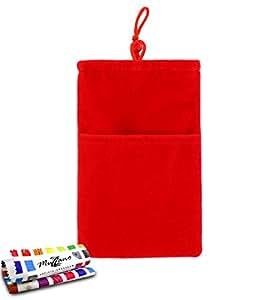 """Funda SONY XPERIA Z5 PREMIUM [""""Cocoon""""] [Rojo] de MUZZANO + ESTILETE y PAÑO MUZZANO REGALADOS - La Protección Antigolpes ULTIMA, ELEGANTE Y DURADERA para su SONY XPERIA Z5 PREMIUM"""