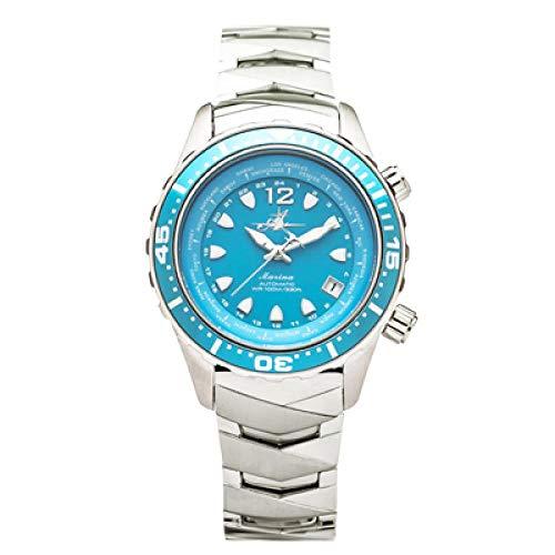 The Abingdon Co Analog Marina in Bahama Blue Women's Wristwatch MA-OBLU -  The Abingdon Co.