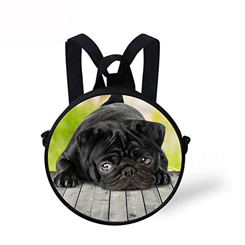 Crossbody Bag Round Handbag FancyPrint Cute Cute DFGCA4965I Round Print SwYffp