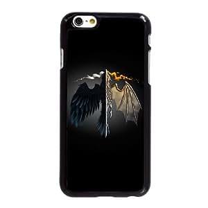 Dragón y fuego Arte HF31VC5 funda iPhone 6 6S Plus 5.5 pulgadas del teléfono celular funda R8GT5H8YM