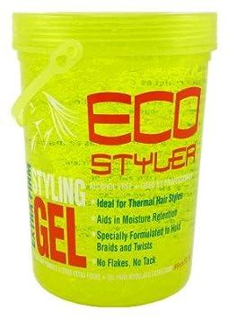 ECOCO Eco Style Gel, Yellow, 80 Ounce