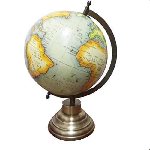 Decorative Rotating Office Globe Geography Political World Globe Ocean Earth Table Decor Globe