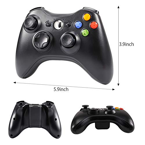 CrazyFire Wireless Controller for Xbox 360 Wireless Gamepad with 2.4GHz Receiver for Xbox 360,PS3,PC - http://coolthings.us