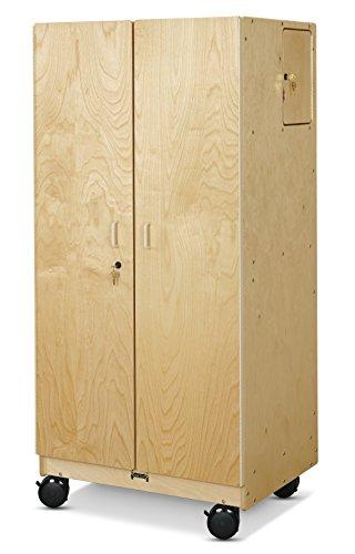 Jonti-Craft 5946JC Hideaway Storage Cabinet - Mobile ()