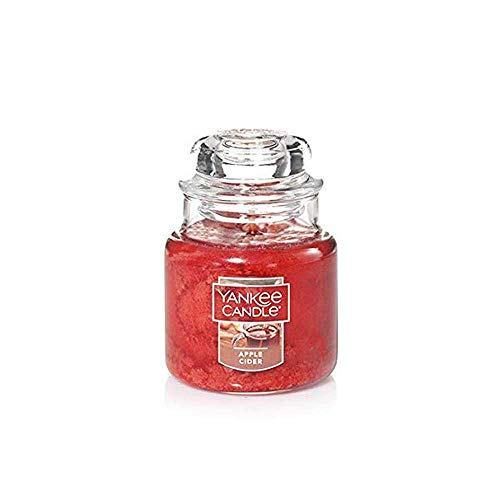 Yankee Candle Apple Cider Small Jar Candle, Food & Spice Scent