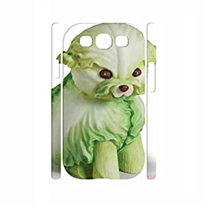 elegant Kawaii Vegetable Pattern Hard Plastic Case Cover for Samsung Galaxy S3 I9300 Case by supermalls