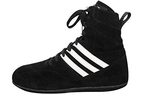 Chaussures boxe Française cuir noir