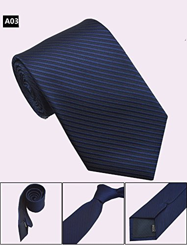 - 8cm Mens Business Silk Tie,Formal Striped Dot Jacquard Wedding Neck Ties,Man Accessories Corbata Neckwear Gravata