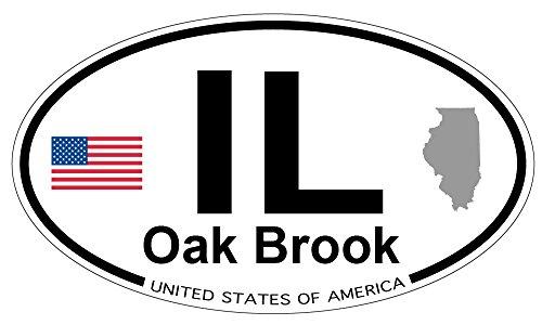 Oak Brook, Illinois Oval - Illinois Oak Brook