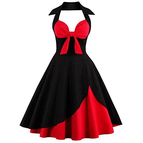 Killreal-Womens-Vintage-Sweetheart-Bridesmaid-Holiday-Cocktail-Party-Dress