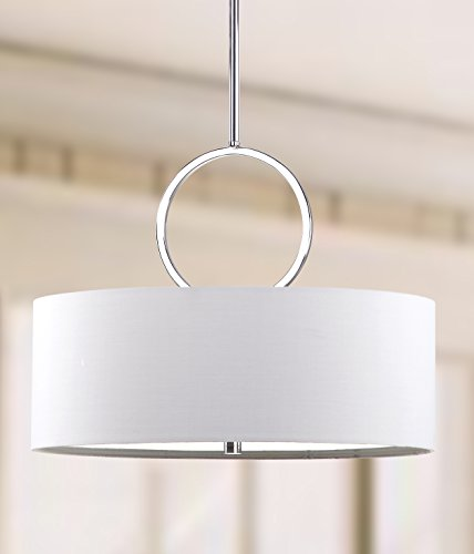 Safavieh Lighting Collection Debonair Chrome 65-inch Pendant Light (Room Lighting Breakfast)