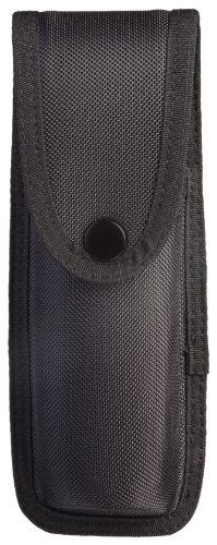 Uncle Mike's Sentinel Molded Nylon OC/Mace Pouch (Large, Black)