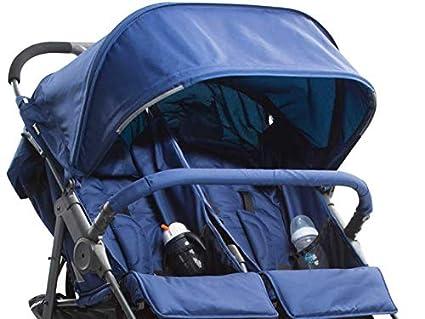gro/ßer Ablagekorb Blaubeere Kinderwagen f/ür Zwillinge Seite-an-Seite Kinderwagen Joovy Scooter X2 Doppel-Kinderwagen