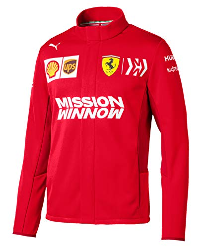 [ Racing Ferrari オフィシャル ] スクーデリア フェラーリ B07QVZSSH8 F1 Racing Team 2019 MISSON WINNOW オフィシャル ソフトシェルジャケット L身幅57cm着丈70cm B07QVZSSH8, Moon Label 大月真珠 Online Shop:fe3f0d00 --- harrow-unison.org.uk