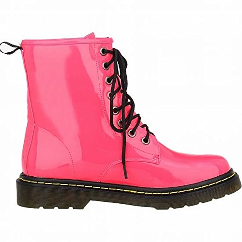Winter Black Low Women's Boots Shoes Boots Round Fall PU HSXZ ZHZNVX Fuchsia Toe Mid Casual Burgundy Heel Comfort for Fuchsia Calf wIqHF5