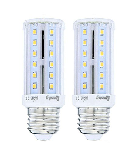 Lamsky T10 LED Corn Light Bulb E27 Medium Screw Base 6W warm white 2800K 60-Watt Incandescent Replacement Lamp - Medium Screw T10