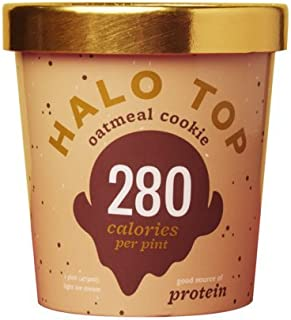 product image for Halo Top Oatmeal Cookie Ice Cream,, 16 Ounce (Pack of 8)
