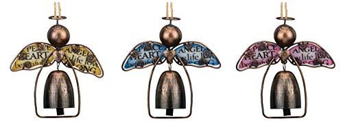 Glass Angel Bell Ornament - 2
