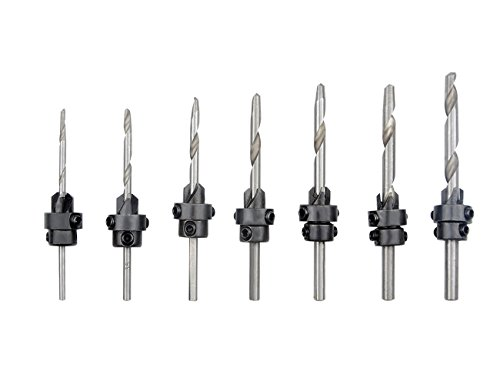 Chamfer Tool Pilots - TOVOT 7PCS HSS 4241 Countersink Drill Bits Set( 3 mm-6 mm) Woodworking Tools Chamfer Tool