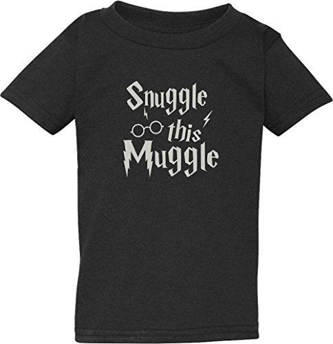 Snuggle This Muggle Baby Bodysuit and Toddler T-Shirt (4T, (Baby Bodysuit Toddler T-shirt)