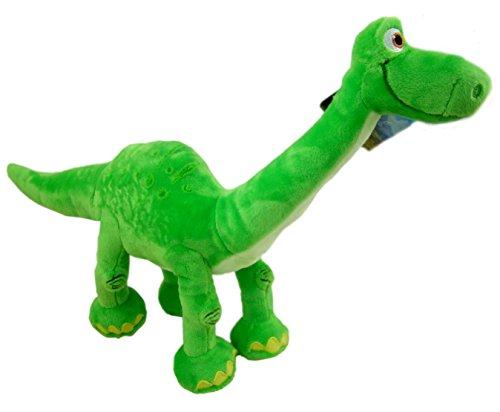 El viaje de Arlo- Peluche ARLO DE PIE (dinosaurio verde « El viaje de Arlo») 25 cm- The good dinosaur. Calidad super soft.: Amazon.es: Juguetes y juegos