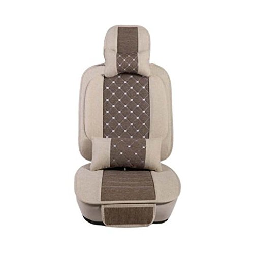 GOUGOU Car cushion headrest / car linen cushion pillow mat / universal five mat / four seasons cushions by YANQI