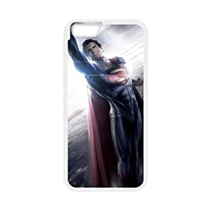 iPhone 6 Plus 5.5 Inch Cell Phone Case White Superman Y9O2D