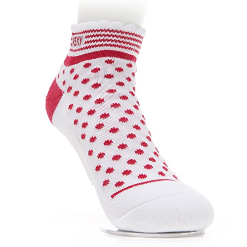 Rexy Functional Balance Women's Golf Ankle Socks Red Dot RGWT-09 by Rexy (Image #1)