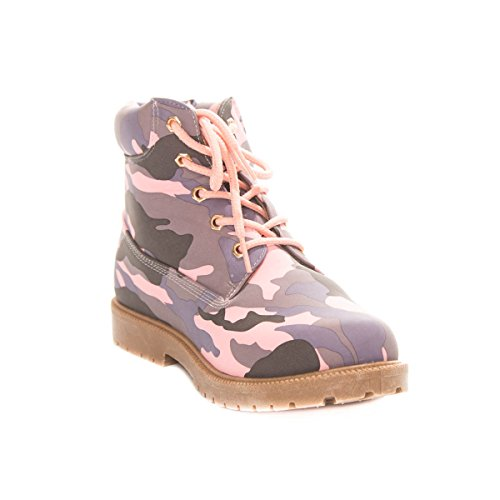 Soho Shoes Women's Military Combat Army Camo Work Boots by Soho Shoes