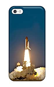 High Impact Dirt/shock Proof Case Cover For Iphone 5/5s (space Shuttle Discovery Launch)