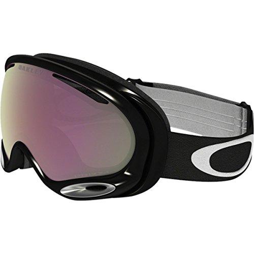Oakley A-Frame 2.0 Goggles, Jet Black, Prizm Hi Pink, - Womens Goggles Oakley