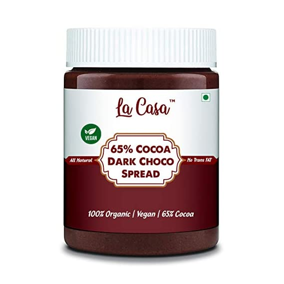Vegan Intense Belgian Chocolate Spread (65% Cocoa)