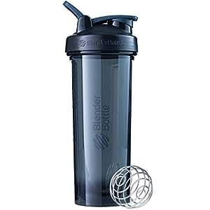 BlenderBottle Pro32 Shaker Bottle, Black, 32-Ounce