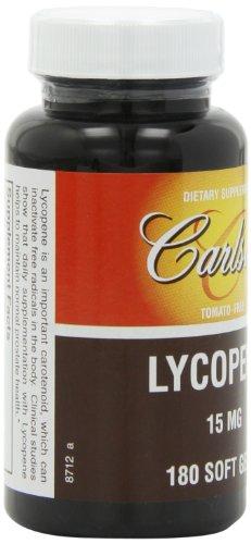 Carlson Labs Lycopene, 15mg, 180 Softgels by Carlson (Image #7)