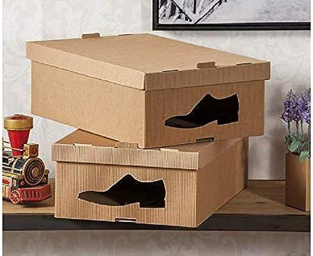 OSD - Juego de 2 Cajas para Zapatos de Hombre, 27 x 42 x 14 cm: Amazon.es: Hogar