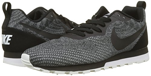 Black Zapatillas Mesh NIKE para Black de Eng MD 008 Running Hombre 2 white Negro Runner RwRCxXq7