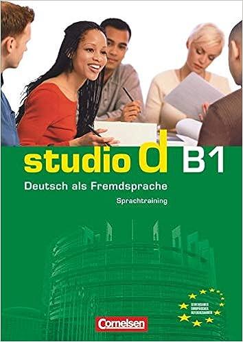 تحميل كتاب دروس وتمارين لتعلم اللغة الالمانية لمستوى STUDIO D B1