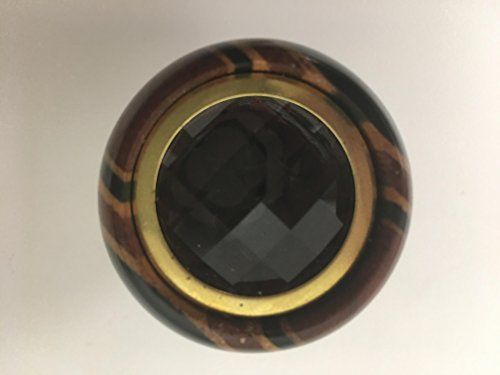 N & J Kaleidoscope Teleidoscope Laminated in Solid Padauk, Ebony and Jalneem Wood, Bug Eye Dragonfly by N & J (Image #2)