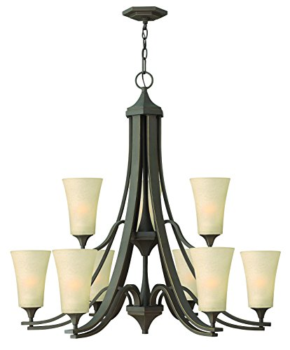 Hinkley Lighting 4638OZ Brantley 8-Light Outdoor Light, Oil Rubbed Bronze