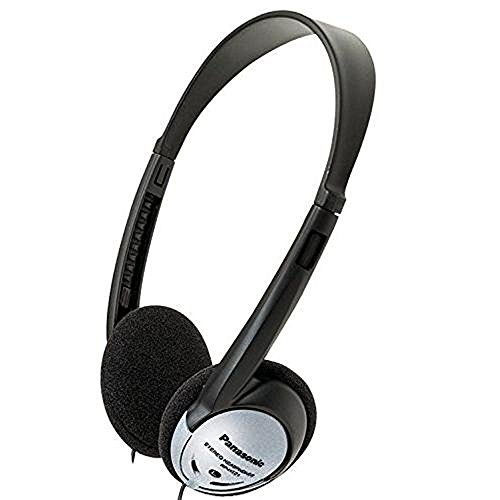 Panasonic On-Ear Stereo Headphones RP-HT21 (Panasonic Rp Ht21 Lightweight Headphones)