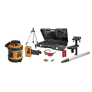 Johnson Level & Tool 40-6517 Self-Leveling Horizontal Rotary Laser Level, Manual-leveling in Vertical Plane - Kit Version 1: 40-6516; Non-Kit: 40-6515