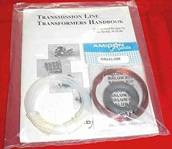 1 KiloWatt Antenna Balun Kit with FT-240-K Type K Core and Handbook
