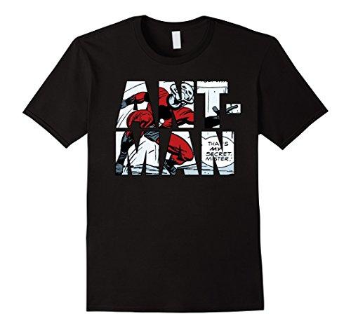 Marvel+Comics+Retro+Shirt Products : Marvel Ant-Man Classic Retro Comic Strip Letter Fill T-Shirt