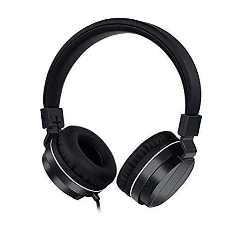 c9287066578 Gorsun High Performance On-Ear Headphones 3.5mm for Kids Teens Adults Noise  Isolation and