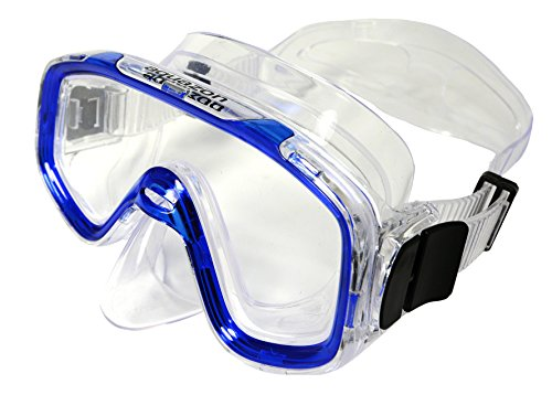 Aquazon Kinder Taucherbrille, Tauchmaske, Tauchermaske Fun, Blau Transparent, One size, AQMAFUBL