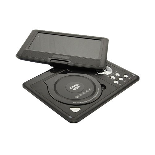 "9.5"" Portable DVD Player Game+USB+SD+MP4 Swivel&Flip analogue TV, High-speed USB interface"