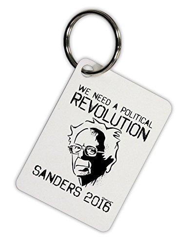 TooLoud Political Revolution Bernie Sanders Aluminum Keyring Tag